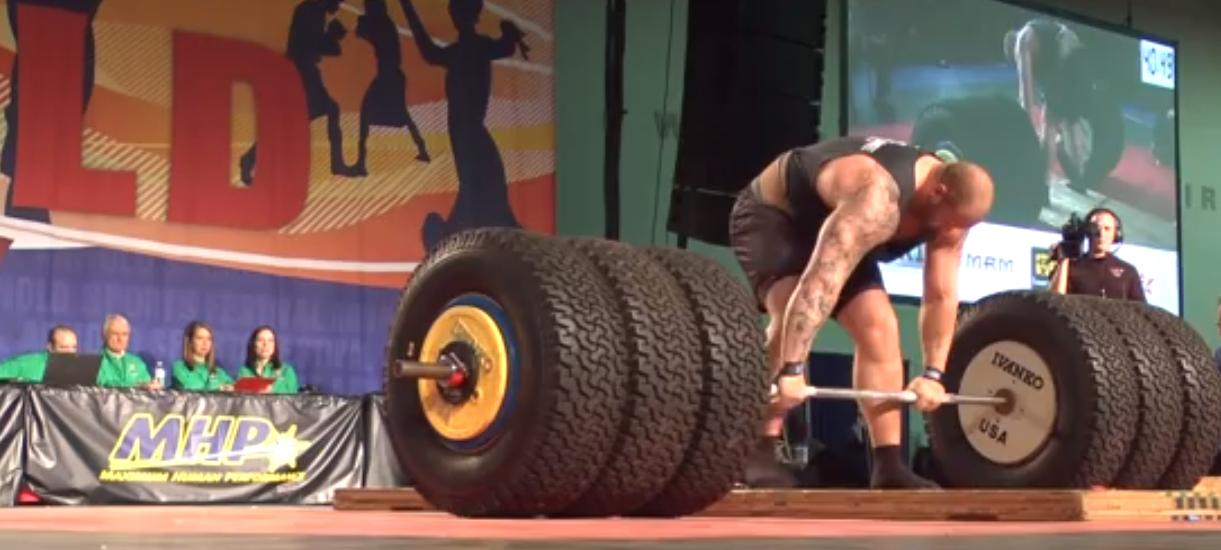 If last week's Game of Thrones wasn't scary enough, here's The Mountain deadlifting 994 pounds in real life.