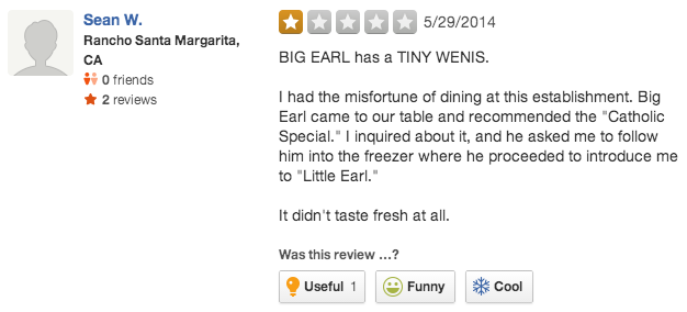 A TX restaurant slurred and banned a gay couple, and they're sticking to it. Their Yelp page is now fabulous.