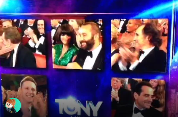 Chris O'Dowd showed how to lose a Tony award like a boss. A boss who may have a drinking problem.