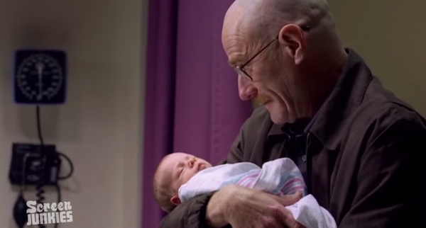 RJ Mitte pays tribute to one of the greatest TV dads of all time: Walter White.