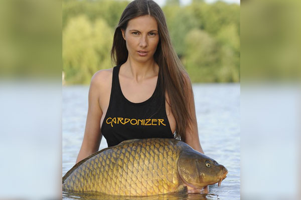 """Reel in the new year with this sexy """"Erotic Carp Calendar"""" from Germany."""