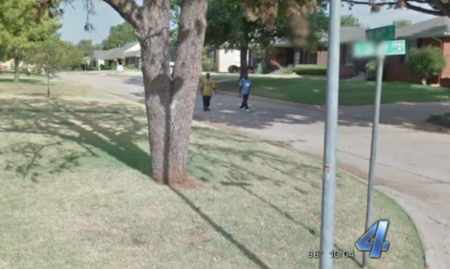 These two house thieves were filmed by Google Street View before breaking into a home.