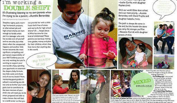 A high school devoted 2 pages of its yearbook to teen parents, and  non-teen parents aren't happy.