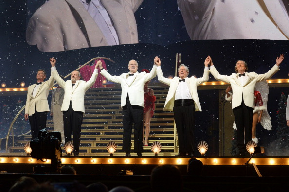 Monty Python performed 'Always Look on the Bright Side of Life' for probably the last time ever.