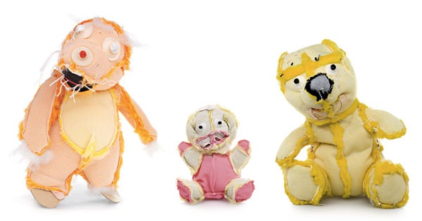 Inside-out teddy bears are kind of terrifying.