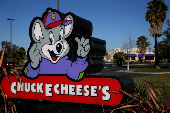 Two men arrested for smoking heroin at a Chuck E. Cheese's.