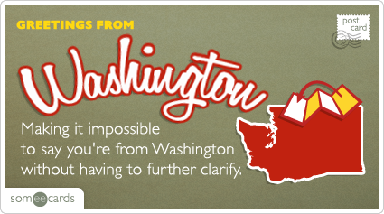 Making it impossible to say you're from Washington without having to further clarify.