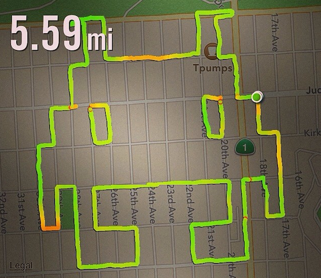 This woman who creates drawings with her running app could change the way we draw penises.