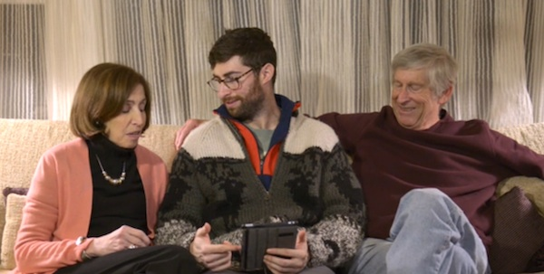 Here's what happened when a guy decided to try using Tinder with his parents.