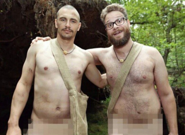 Seth Rogen and James Franco will be naked and afraid together on 'Naked & Afraid.'