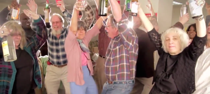 This video of seniors dancing to Turn Down For What will see you through this Monday.