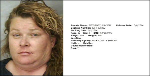 A woman arrested in Florida has the most Florida name possible.