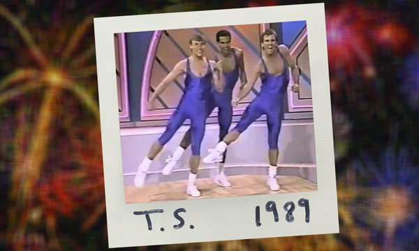 Who knew Taylor Swift and terrible '80s aerobic choreography went so well together?