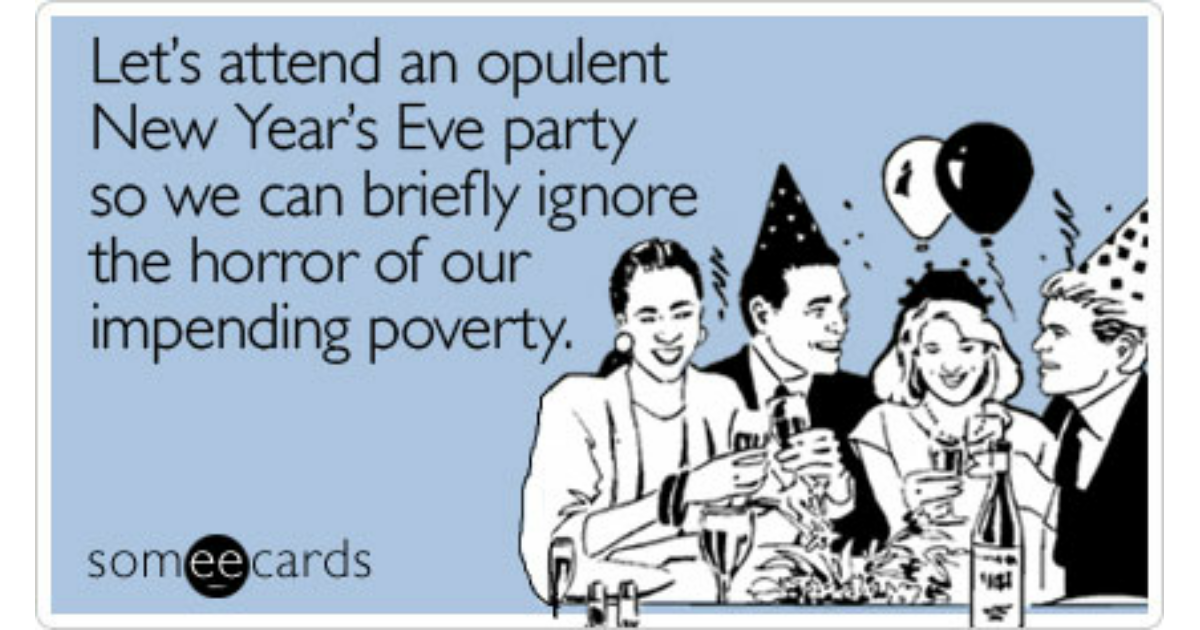 New Year's Eve Expensive Party Celebrate Economy | New ...
