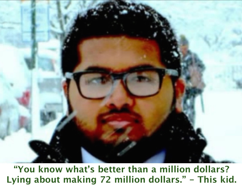 Remember that high school kid who made $72 million trading stocks? It was more like 72 million LIES!