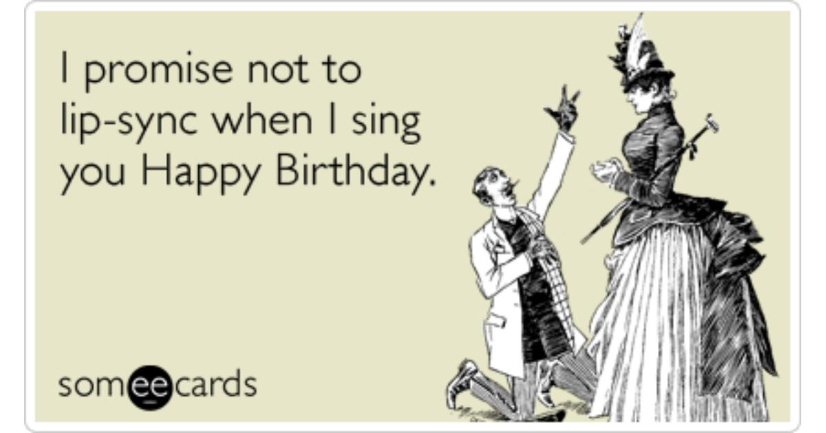 Birthday Lip Sync Beyonce Obama Funny Ecard Birthday Ecard
