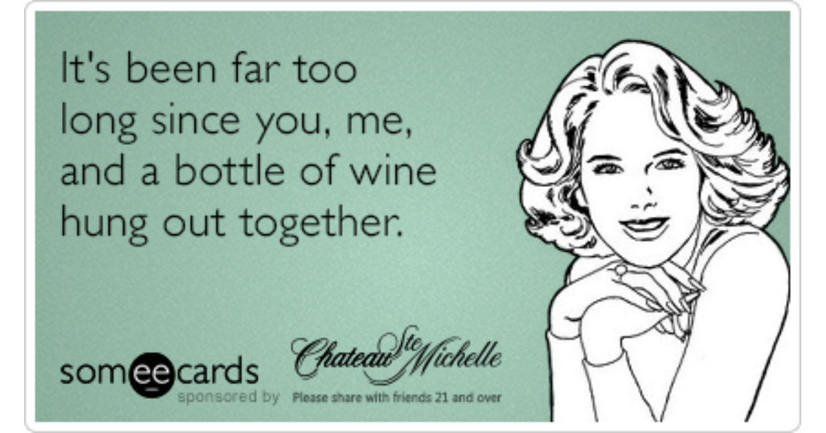 Chateau Ste Michelle Birthday Wine Drink Funny Ecard – Some E Cards Birthday