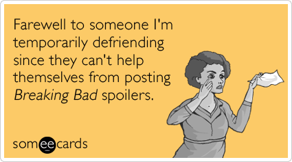 Funny farewell memes ecards someecards farewell to someone im temporarily defriending since they cant help themselves from m4hsunfo