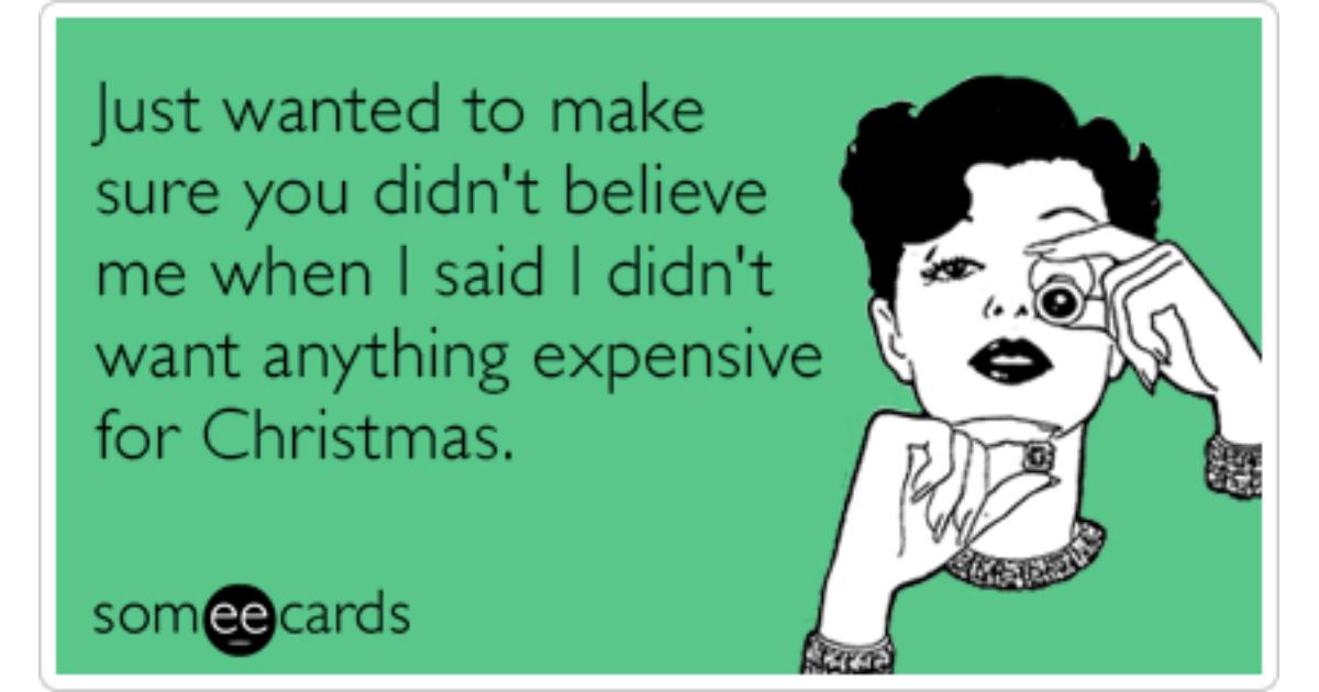 christmas shopping ecards