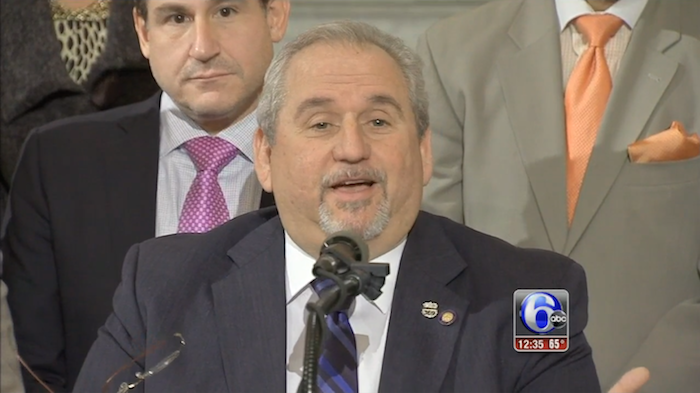 Pennsylvania State Senator comes out as gay in charmingly casual fashion during press conference.