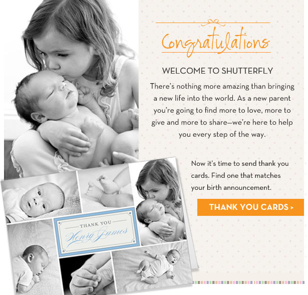 Shutterfly sent out a mass email congratulating random people on new babies they didn't have.