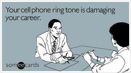 phones at work