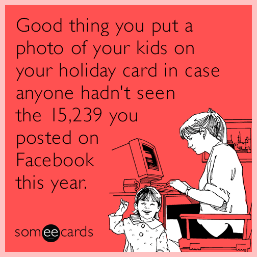 Good Thing You Put A Photo Of Your Kids On Your Holiday Card In ...