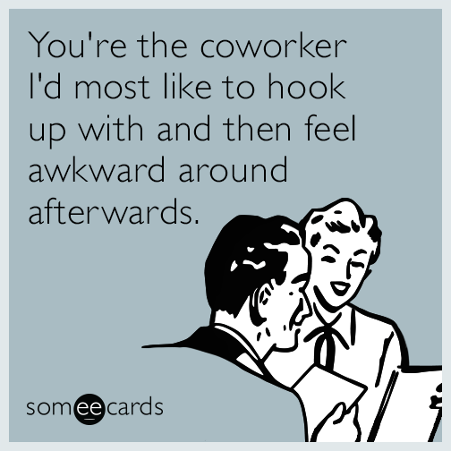 Hook up with coworker