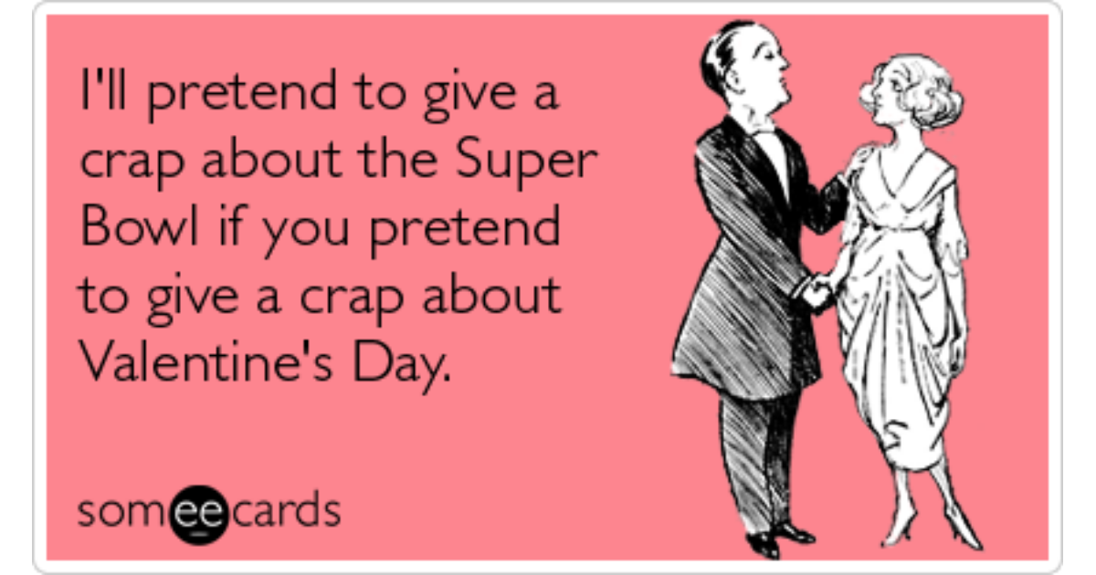 Super Bowl Valentines Day Holidays Packers Steelers Funny ...