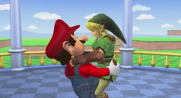 If your favorite Nintendo characters were all gay.
