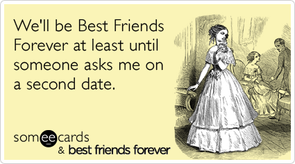 can best friends date