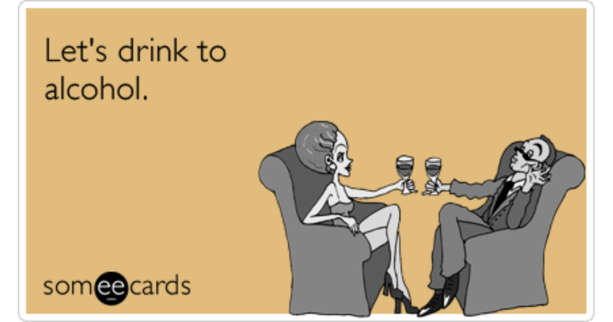 ecards drinking wine - photo #26