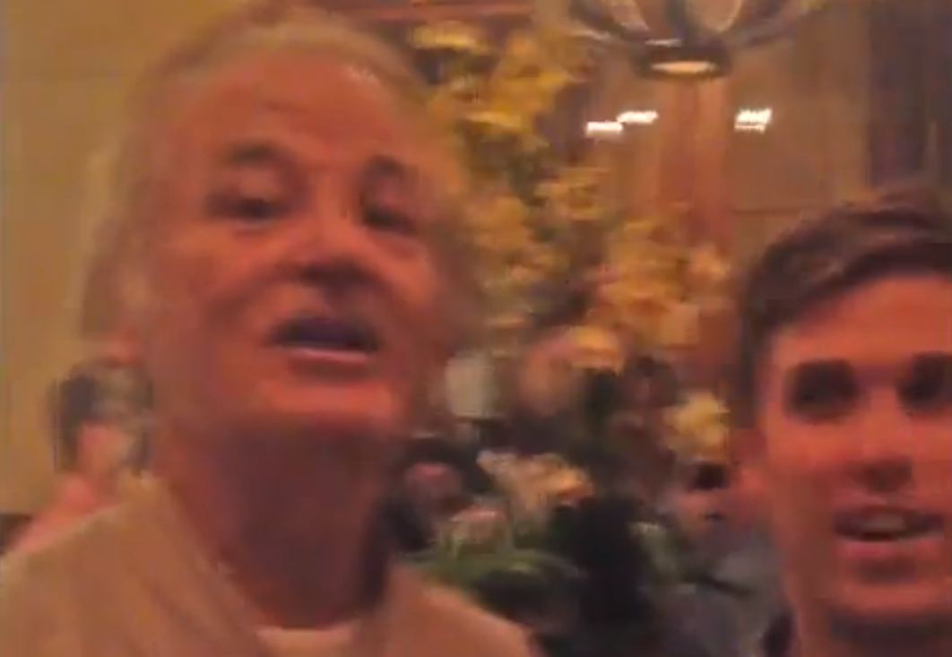 Bill Murray crashed a stranger's bachelor party and told everyone but the groom how to have a happy marriage.