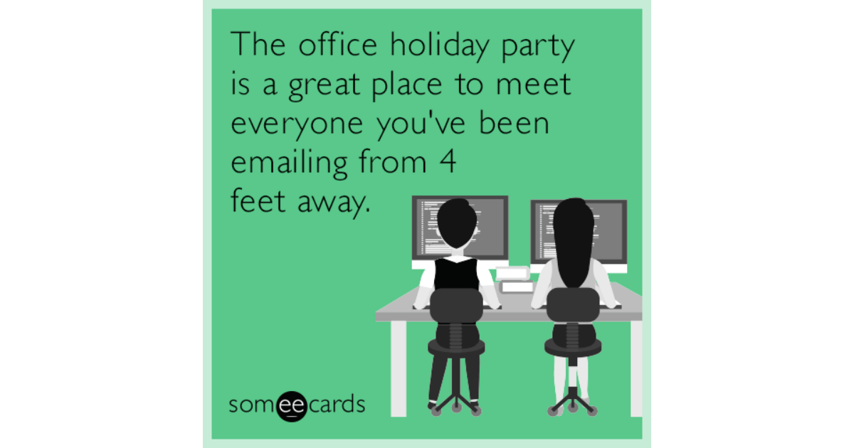 work holiday party