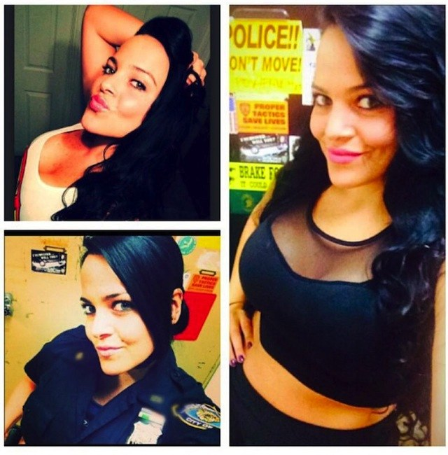 """A bunch of female cops are in trouble for posting """"Uniform On, Uniform Off"""" selfies on Instagram."""