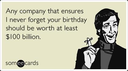 facebook ecards, free facebook cards, funny facebook greeting, Birthday card