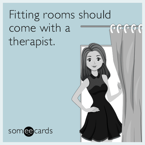 Image result for fitting rooms in stores cartoon