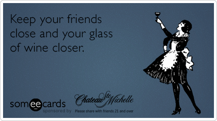 Your Ecards Birthday Funny ~ Chateau ste michelle birthday wine drink funny ecard my chateau