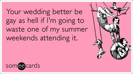 Gay wedding e