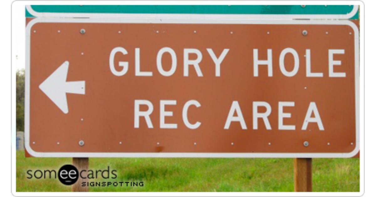 hole video Glory strange