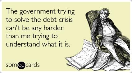Debt of confusion.
