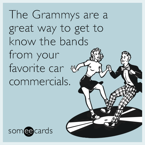 The Grammys are a great way to get to know the bands from your favorite car commercials.