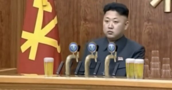 A Dutch brewing company thought this would be the perfect time to feature Kim Jong-un in one of their commercials.
