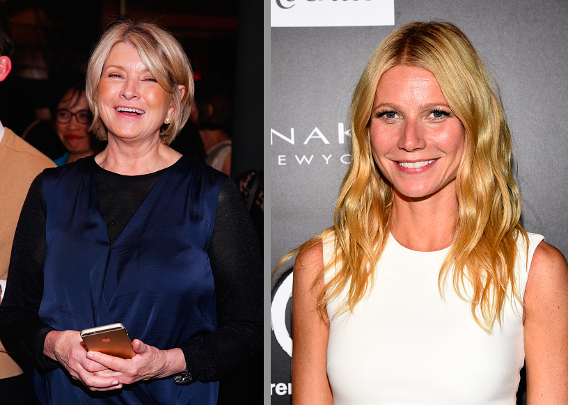 "Martha Stewart mocks Gwyneth Paltrow's ""Conscious Uncoupling"" with a six-page spread."