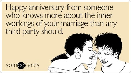 happy someone knows more anniversary ecard someecards happy anniversary from someone who knows more about the inner