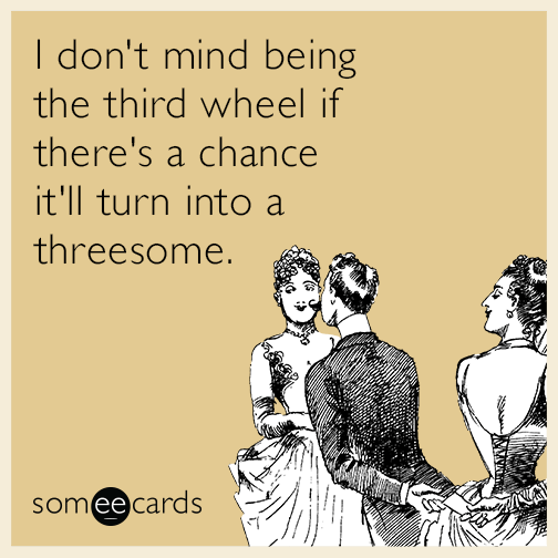 Think, that E-cards threesome valentine