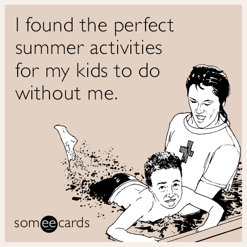 I found the perfect summer activities for my kids to do without me.