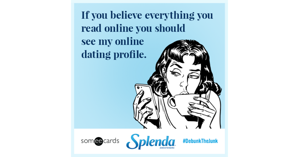 How an online dating profile should read