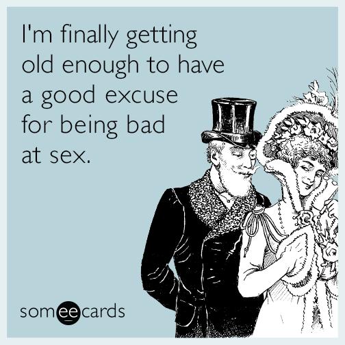 I am bad at sex why