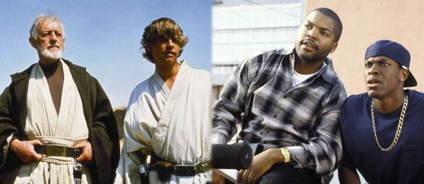 Who'd have guessed 'Star Wars' and 'Friday' would fit so well together?
